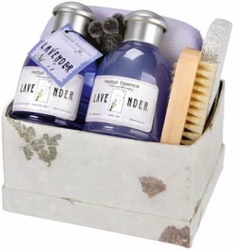 Bade-Set Lavendel
