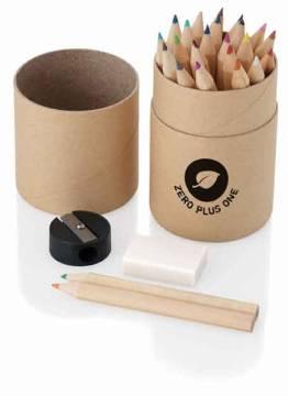 Zylinder-Bleistiftbox