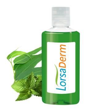 100 ml Flasche - Atemfrei Bad \Eukalyptus-Minze\ - Body Label