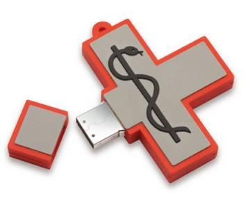 USB flash drive SOFT RUBBER 02