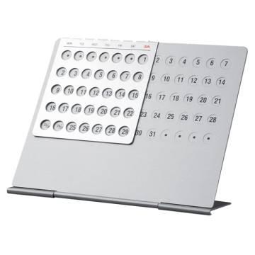 Aluminium-Dauerkalender