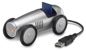 USB hub cardreader