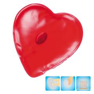 Gel-Wärmekissen Herz