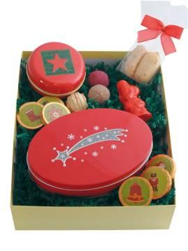 Präsentbox C Trüffel und Weihnachtsmann