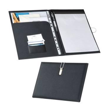 A4 Schreibmappe mit Metallhaken