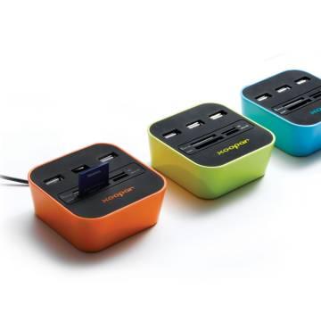 USB Hub & CardReader Podium