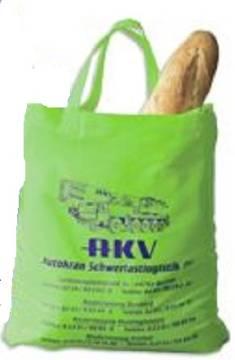 Grüne Bio Fairtrade Baumwolltasche lange Henkel
