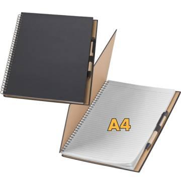 Ringbuch liniert A4 mit Kugelschreiber