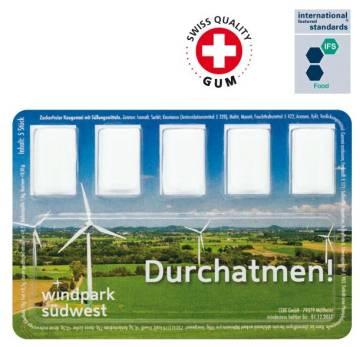 Smart Card Kaugummi Werbeartikel