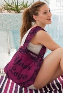Strandtuch Strandtasche