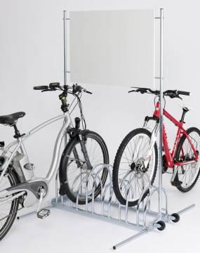 Werbe Fahrradständer