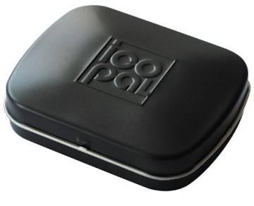 Mini Nostalgiedose schwarz matt