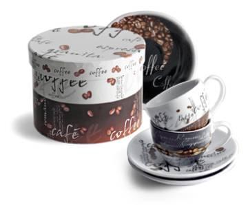 Espresso-Tassenset Florenz