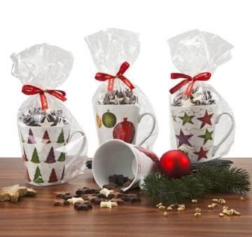 Der gefüllte Weihnachtsbecher