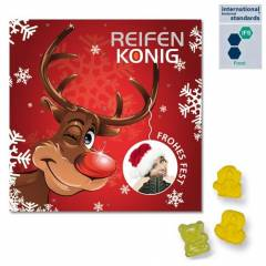 Mini-Fruchtgummi-Adventskalender BUSINESS