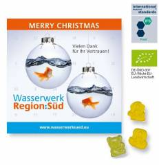 Mini BIO Fruchtgummi Adventskalender BUSINESS