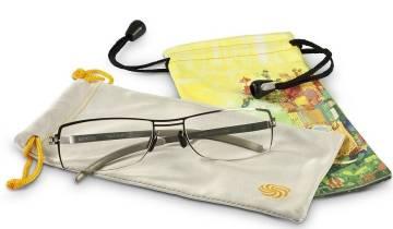 Microfaserbeutel für Brille