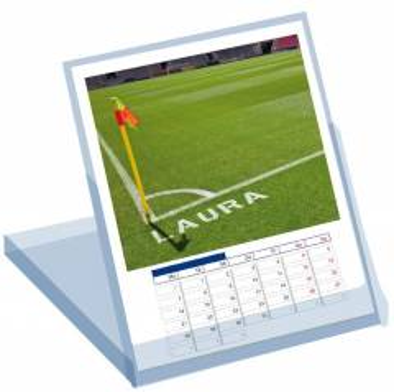 Namenskalender als Kalenderbox