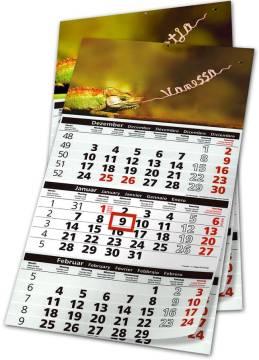Werbemittel Kalender 3 Monate