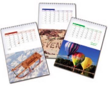 A5 Tischkalender als Werbekalender