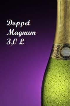 Sekt halbtrocken Doppelmagnum Flasche 3,0 L