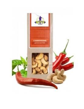 Büro Snack Cashewkerne Chili
