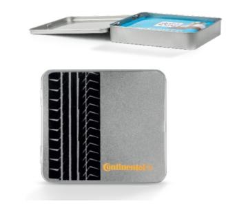 Premium Box Ritter Sport Mini mit Beflockung