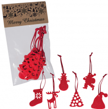 Filzanhänger Weihnachtsbaum Werbegeschenk