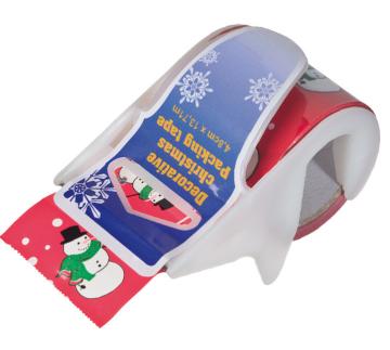 Klebeband Rolle mit Weihnachtsmotiven