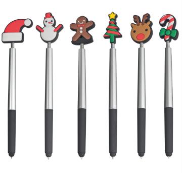 Flexy Kugelschreiber mit Weihnachtsmotive