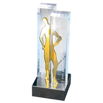 Geschenk Skulptur  `Vorraus`