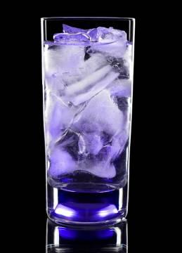 Longdrink Glas mit Gravur und Licht