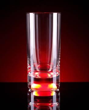 Longdrinkglas mit Licht