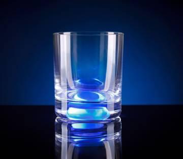 Whiskey Gläser mit Licht