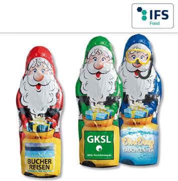 Schoko Weihnachtsmann Maxi 40gr