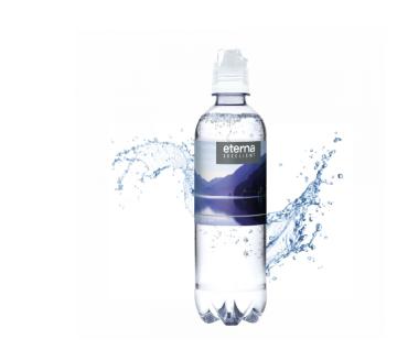 Werbewasser Sportcap 500 ml