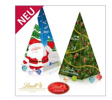 Jubiläums Adventskalender Weihnachtspyramide