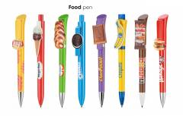 Kugelschreiber mit großer Werbefläche