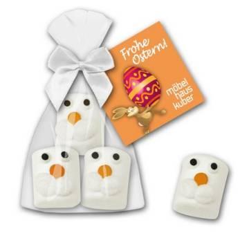 Marshmallow Hasenköpfe