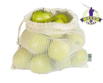 Bio Obst und Gemüsebeutel
