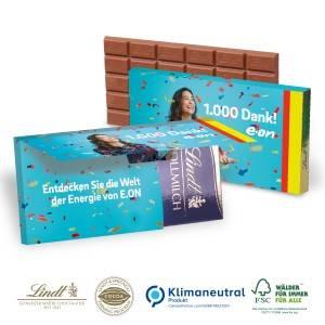 Mailing Grußkarte Lindt Schokolade