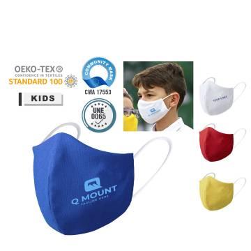 Kinder Corona Schutzmaske mit Logo