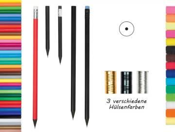 Bleistift FSC schwarz durchgefärbt