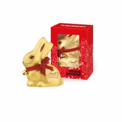 Lindt Goldhase 50g in Werbekartonage