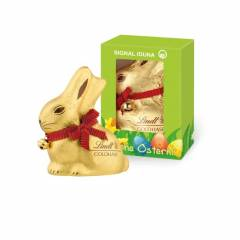 Lindt Goldhase 100g in Werbekartonage
