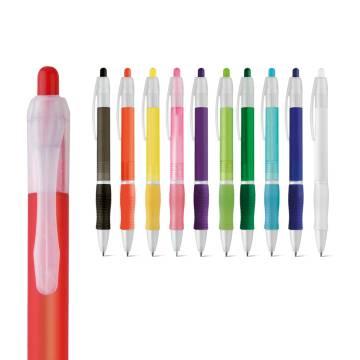 Werbeartikel Kugelschreiber mit Gummigriff
