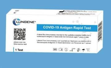 Clungene Corona Antigen Schnelltest Covid-19 Laientest