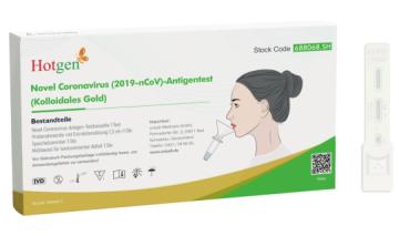 Hotgen Corona Antigen Spucktest Laientest 1er