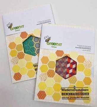 Bienenwachstücher 24 x 32 cm