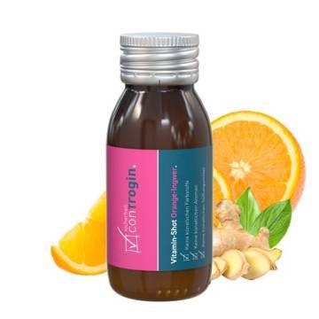 Vitamin Shot Orange Ingwer